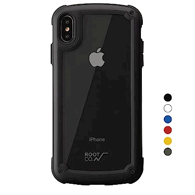 日本ROOT CO. iPhone Xs Max透明背板手機殼