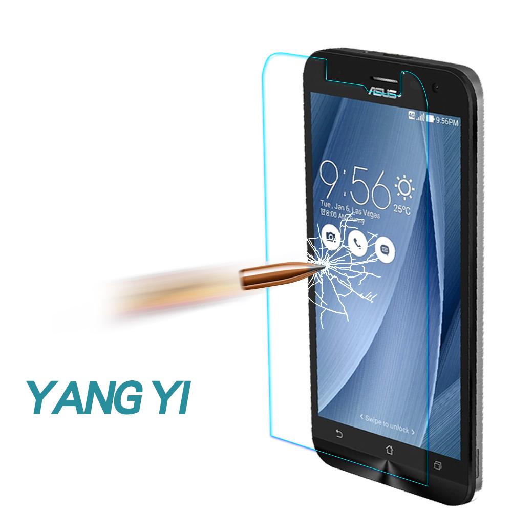 揚邑 ASUS ZenFone2 Laser ZE601KL 防爆防刮9H鋼化玻璃保護貼 @ Y!購物