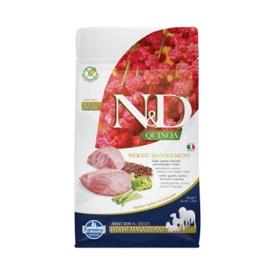 Farmina法米納|天然藜麥無穀機能系列-犬用體重管理-羊肉蘆筍800g