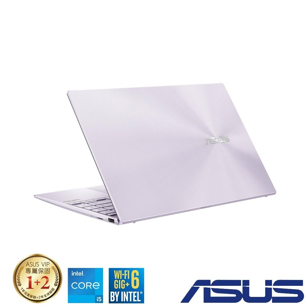 (組合)ASUS UX425EA 14吋筆電 (i5-1135G7/16G/512G SSD/ZenBook 14/星河紫)