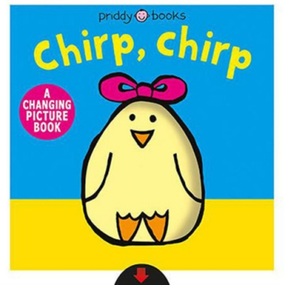 Chirp,Chirp A Changing Picture Book 可愛小雞變色操作書(美國版)