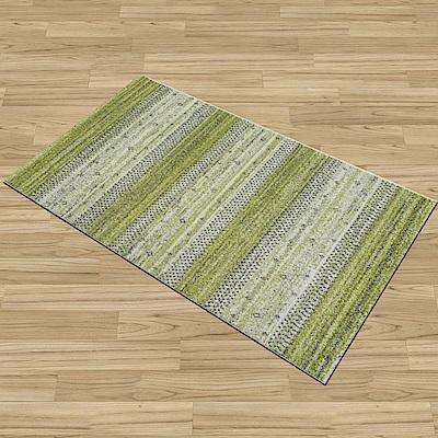 Ambience-比利時Nomad床邊/走道地毯 -綠茵(67x130cm)