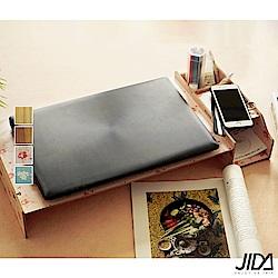 佶之屋 木質DIY可調式螢幕/筆電附收納架