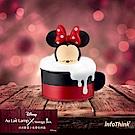 InfoThink 迪士尼系列泡泡歐蕾小夜燈收納盒-米妮
