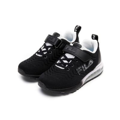 FILA KIDS 大童MD氣墊慢跑鞋-黑 3-J406V-001