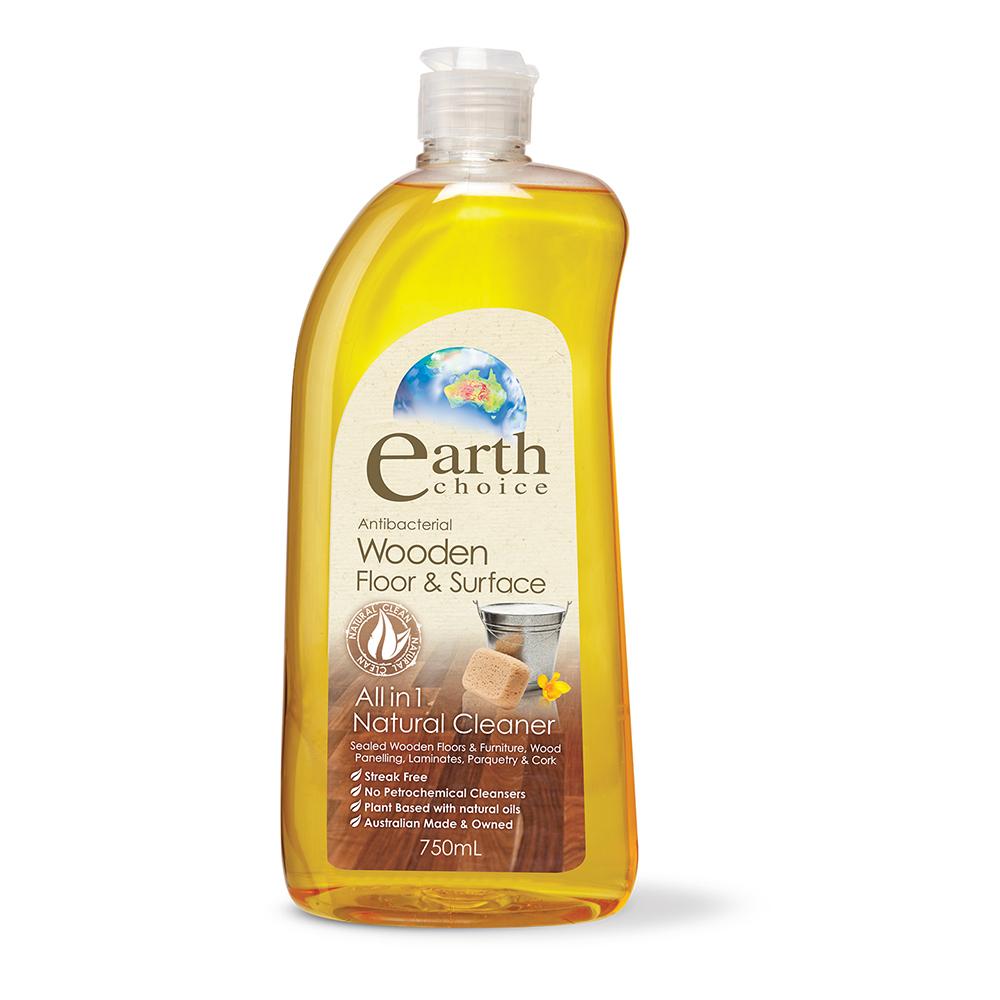 澳洲Natures Organics 植粹木質地板保養清潔劑750mlx3入