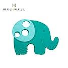 【MARCUS&MARCUS】動物樂園感官啟發固齒玩具-大象(綠)