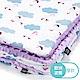 La Millou 暖膚豆豆毯嬰兒毯寶寶毯-雨點達達鴨(粉紫馬卡龍) product thumbnail 1