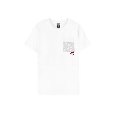 Marvel.Marvel Comics系列 口袋印花款 短袖T恤 (白/黑)