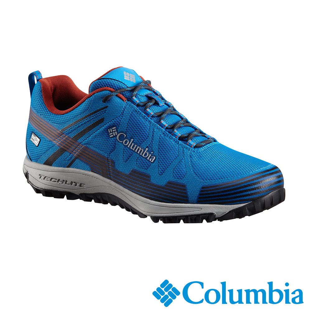 Columbia哥倫比亞 男款-Outdry防水健走鞋-寶藍 UBM45900