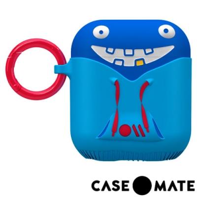 美國 CASE●MATE AirPods 可愛怪物保護套 - 有點白爛的崔基 - 藍色