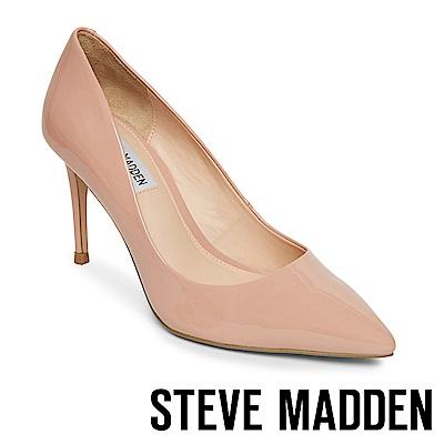 STEVE MADDEN-LILLIE 極美型素面尖頭高跟鞋-鏡粉
