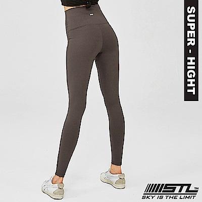 STL Leggings Pure 9 韓 女 超高腰運動拉提褲 純粹摩卡