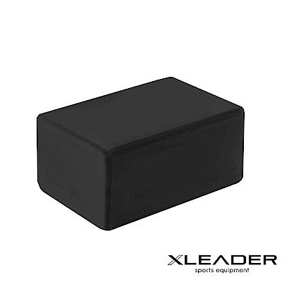 Leader X 環保EVA高密度抗壓瑜珈磚 加厚款10cm 黑色