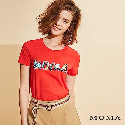 MOMA壓花燙畫T恤