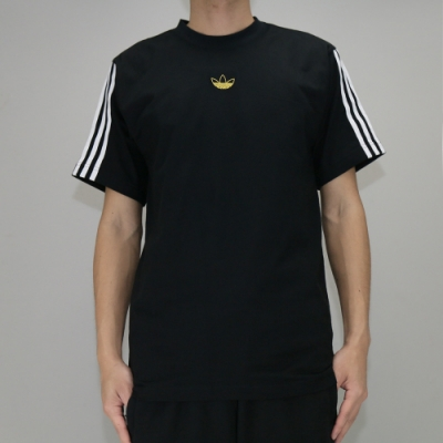 Adidas FLOATING TEE 男 短袖上衣 黑