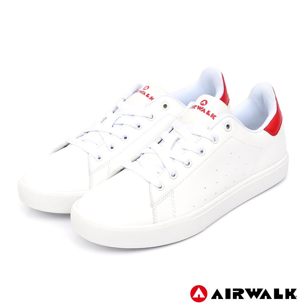【AIRWALK】經典潮流休閒鞋-男款-白色