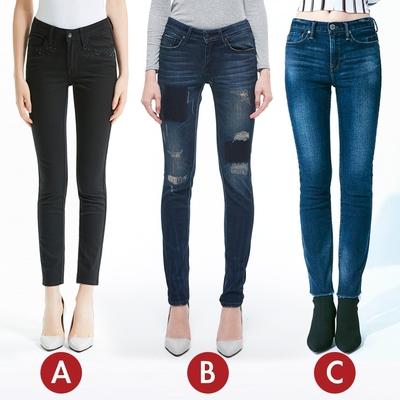 [時時樂限定]BRAPPERS 女款 極度拉提腳長比例褲(三款選)