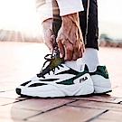 (男女) FILA VENOM 94復古慢跑鞋-白綠