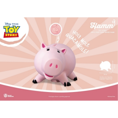 野獸國 迪士尼 玩具總動員系列 大型搪膠存錢筒 火腿豬款