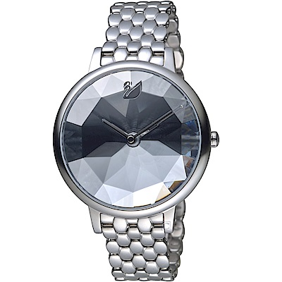 SWAROVSKI施華洛世奇CRYSTAL LAKE嫵媚腕錶(5416017)