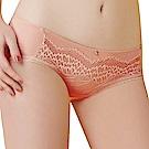 思薇爾 啵時尚系列M-XL蕾絲低腰平口內褲(香檳粉)