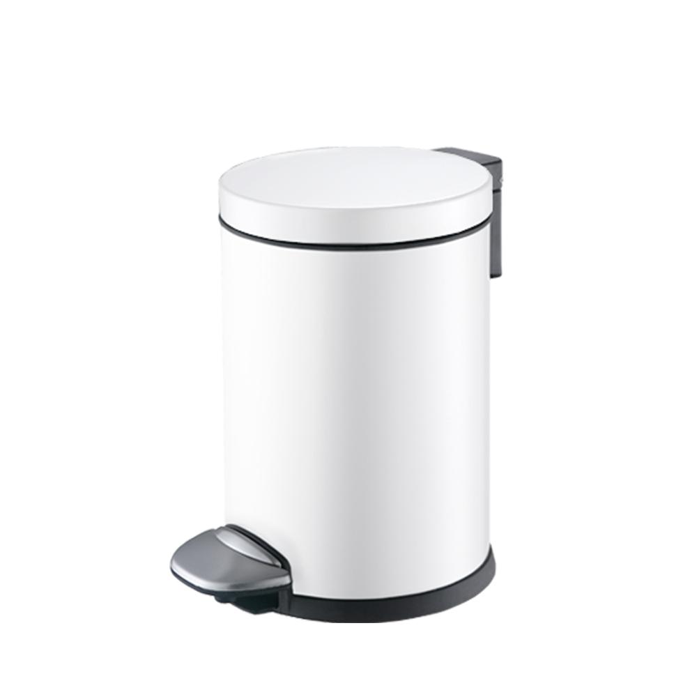 EKO睿思靜音垃圾桶(亮白,3L)