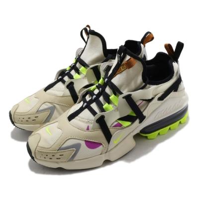 Nike 休閒鞋 Air Max Infinity 運動 男鞋 氣墊 舒適 避震 簡約 球鞋 穿搭 米白 綠 CU9451200
