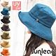 Sunlead 防風吹落。防曬透氣可折邊寬緣遮陽帽 product thumbnail 1