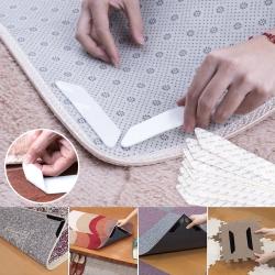 EZlife 地毯防滑固定貼(8片組)