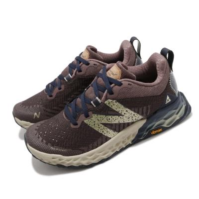 New Balance 慢跑鞋 Fresh Foam Hierro 寬楦女鞋 紐巴倫 輕量透氣 舒適避震 路跑 健身 棕 金 WTHIERB6D