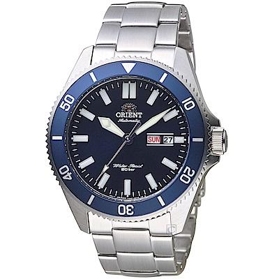 ORIENT東方錶 200米水鬼運動潛水錶(RA-AA0009L)-藍