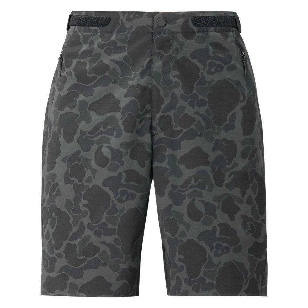 【SHIMANO】XEFO DURAST 釣魚短褲 迷彩黑 2XL WP-293T