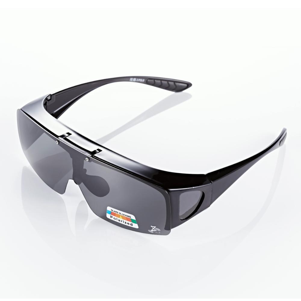 【Z-POLS】可掀包覆設計 Polarized偏光抗UV400太陽眼鏡