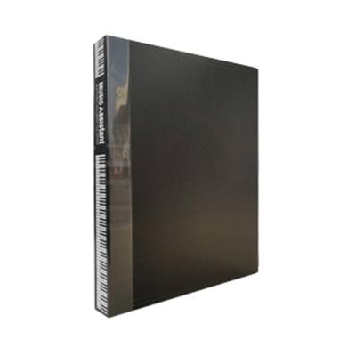 doit-great 美麗家固頁樂譜夾40頁(黑色)