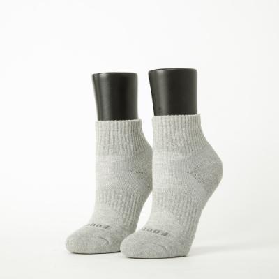 Footer除臭襪-輕壓力單色足弓襪-六雙入(黑*2+白*2+灰*2)