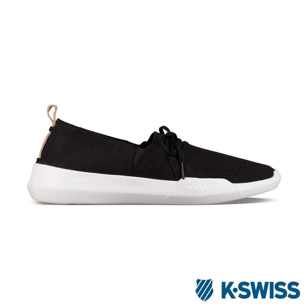 K-SWISS Gen-K Brogue休閒運動鞋-女-黑/白