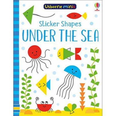 Mini Books Sticker Shapes Under The Sea 海底世界貼紙書