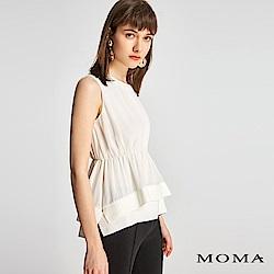MOMA 雙層雪紡無袖上衣