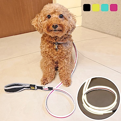 YSS 寵物PU綿防水耐用3D反光牽繩S(4色)