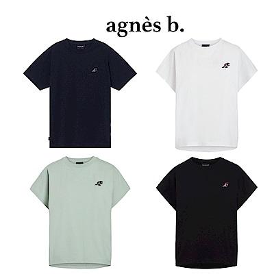 agnes b. - Sport b. 短袖上衣