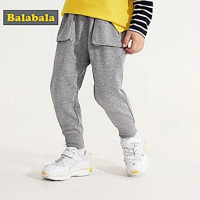 Balabala巴拉巴拉-立體口袋造型棉褲-男(3色)