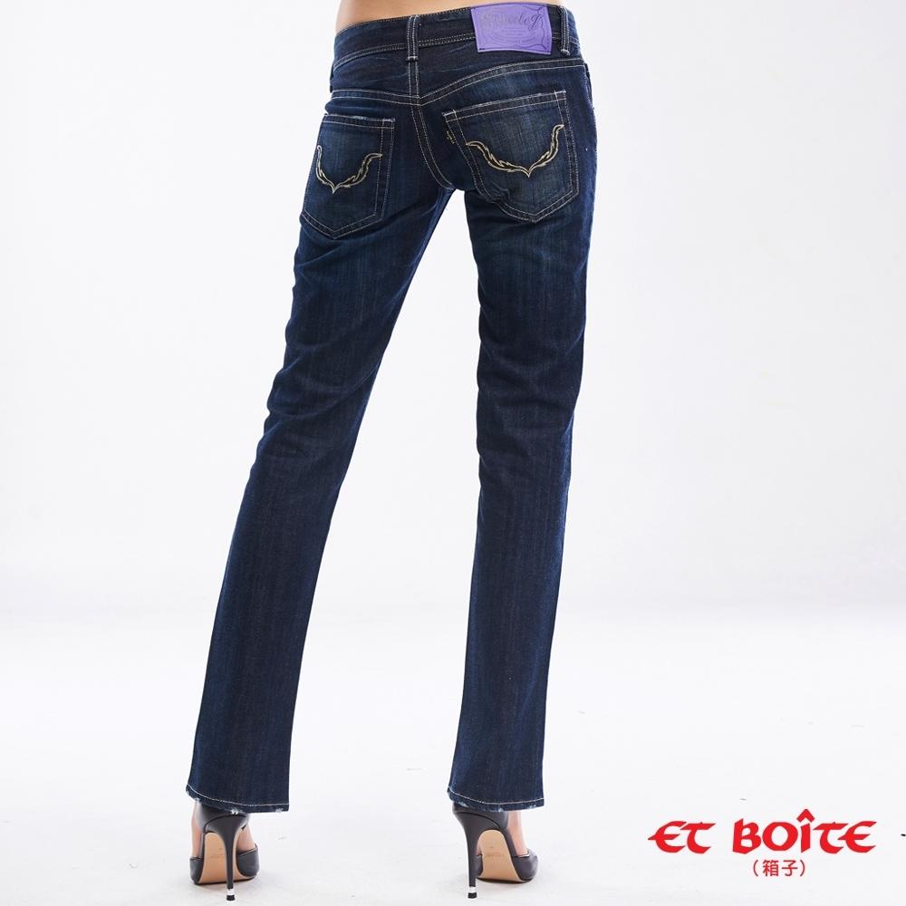 ET BOiTE 箱子BLUE WAY -修身直筒褲