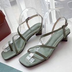 KEITH-WILL時尚鞋館 狂賣千雙歐美玩酷涼鞋-綠