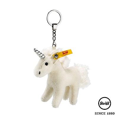 STEIFF德國金耳釦泰迪熊 獨角獸 Endant Unicorn(羊毛吊飾)