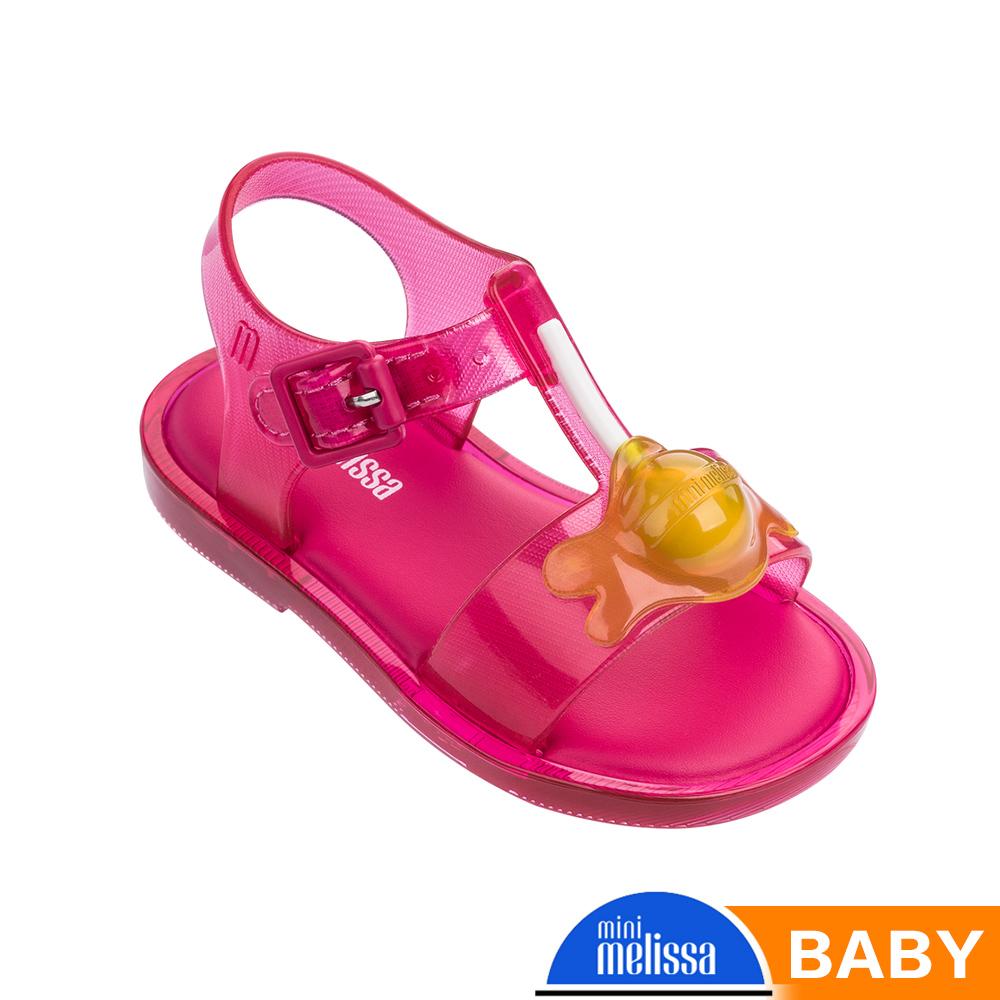 Melissa 融化棒棒糖造型涼鞋-寶寶款-桃紅