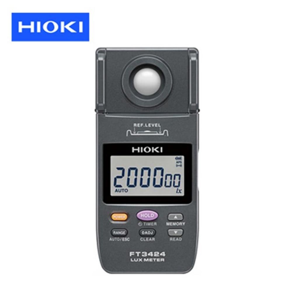 【HIOKI】照度計 – FT3424