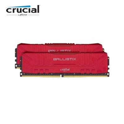 美光 Crucial Ballistix D4 3600/64G(32G*2)(紅)(雙通)