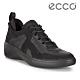 ECCO SOFT 7 WEDGE W 時尚運動風厚底增高休閒鞋 女鞋 黑色 product thumbnail 1