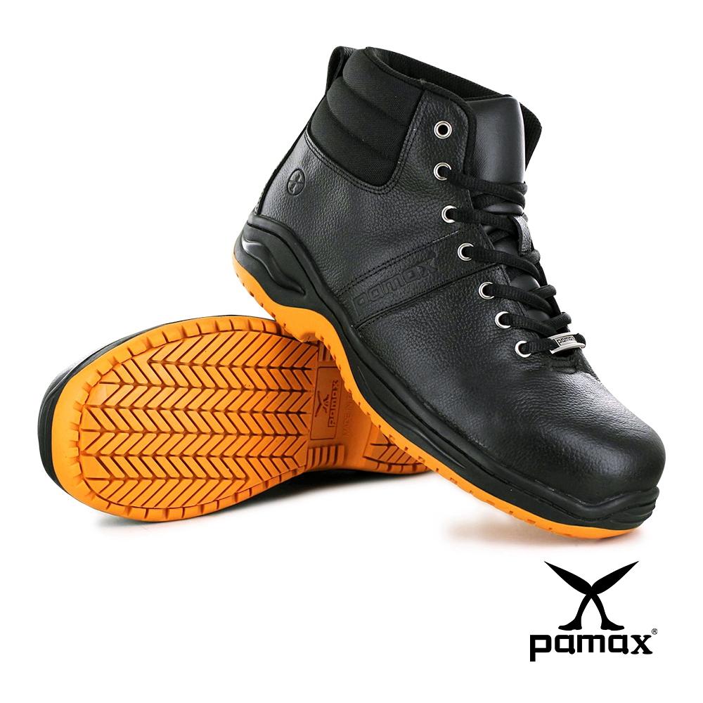 PAMAX 帕瑪斯【反光、防穿刺止滑安全鞋、頂級專利氣墊】鋼頭長筒靴、超彈力抗菌
